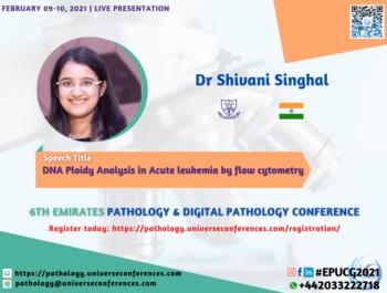 Dr Shivani Singhal_6thEmirates Pathology & Digital Pathology Conference