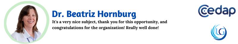 Dr. Beatriz Hornburg_UCG Testimonials