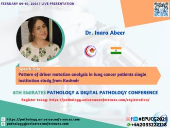 Dr. Inara Abeer_6thEmirates Pathology & Digital Pathology Conference