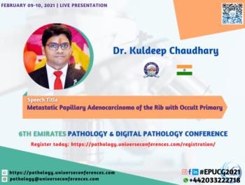 Dr. Kuldeep Chaudhary_6thEmirates Pathology & Digital Pathology Conference