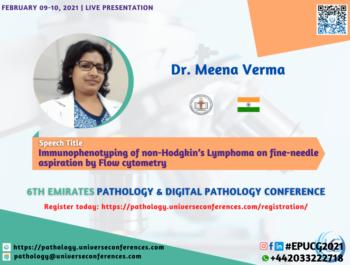 Dr. Meena Verma_6thEmirates Pathology & Digital Pathology Conference
