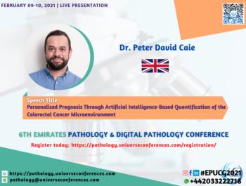 Dr. Peter David Caie_6thEmirates Pathology & Digital Pathology Conference