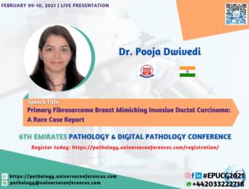 Dr. Pooja Dwivedi_6thEmirates Pathology & Digital Pathology Conference
