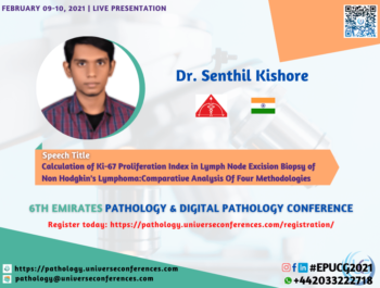 Dr. Senthil Kishore_6thEmirates Pathology & Digital Pathology Conference