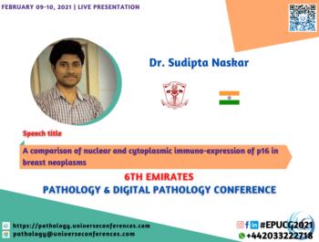 Dr. Sudipta Naskar_6thEmirates Pathology & Digital Pathology Conference