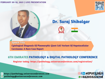 Dr. Suraj Shikalgar_6thEmirates Pathology & Digital Pathology Conference