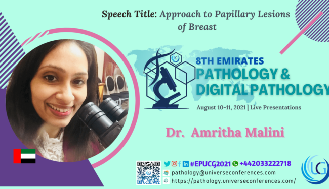 Dr. Amritha Malini_8th Emirates Pathology & Digital Pathology