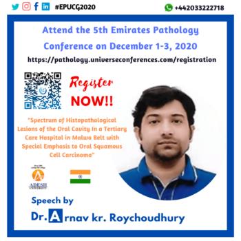 Dr. Arnav Kr ROYCHOUDHURY_Pathology Utilitarian Conference
