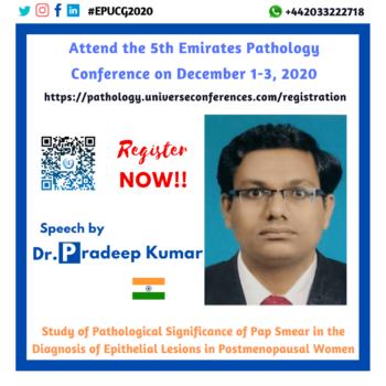 Dr. Pradeep Kumar L_Pathology Utilitarian Conference