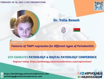 Dr. Yulia Benesh_Pathology Utilitarian Conference