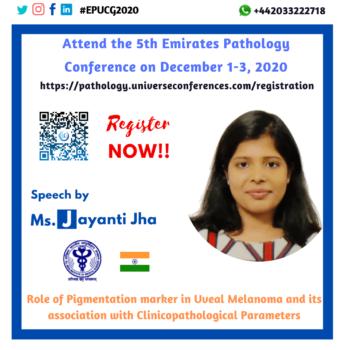 Ms. Jayanti Jha_Pathology Utilitarian Conference