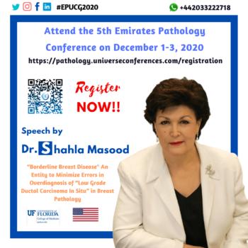 Prof. Shahla Masood_Pathology Utilitarian Conference