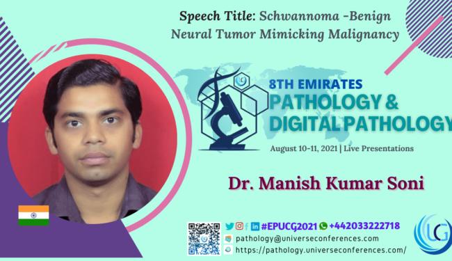 Dr. Manish Kumar Soni_Presentation at the 8th Emirates Pathology & Digital Pathology, August 10-11, 202