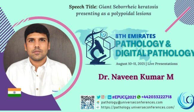 Dr. Naveen Kumar M_8th Emirates Pathology & Digital Pathology